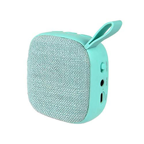 TOLLK LESSE Gift small square fabric bluetooth speaker portable bluetooth speaker gift speaker multifunctional bluetooth speaker
