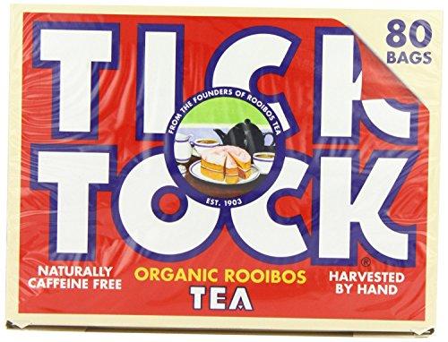 Tick Tock Original Rooibos Tea Bags (80) - Pack of 2
