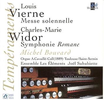 """Vierne: Messe solennelle pour deux orgues et choeur - Widor: 10ème symphonie """"Romane"""" (Orgue A. Cavaillé-Coll Toulouse)"""