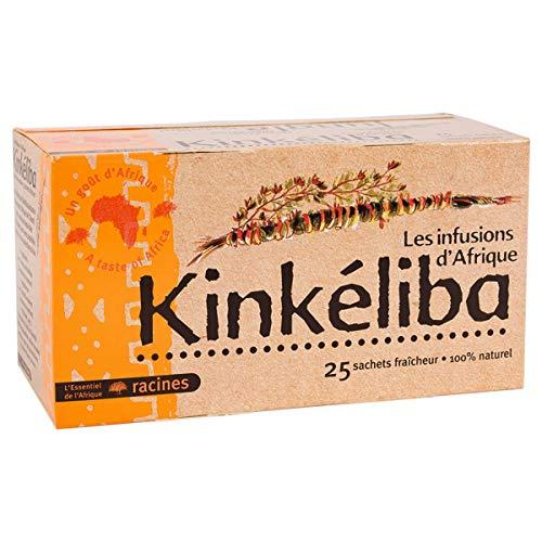 kinkéliba infusions d'Afrique 25 sachets racines 40g