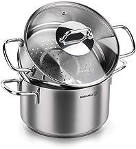 Korkmaz Couscous Set, 2 L - A1522, Silver, Stainless Steel