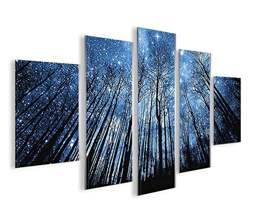 islandburner Quadro Moderno Starlight MFP Stampa su Tela - Quadro x poltrone Salotto Cucina mobili Ufficio casa - Fotografica Formato XXL