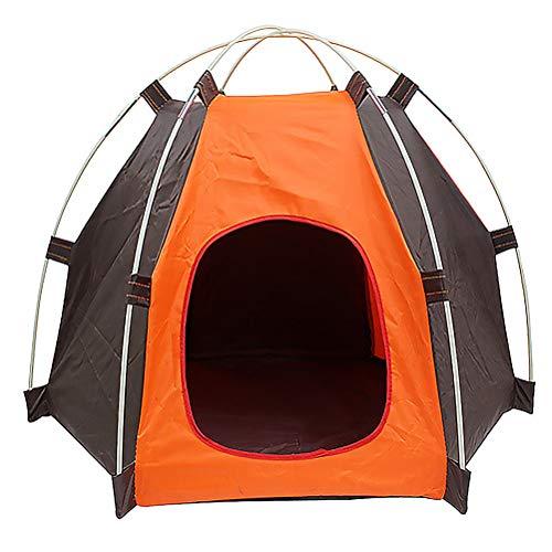 VORCOOL Sun-block Pet Tent Waterproof Tent Foldable Cat Tent Breathable Dog Tent Outdoor Sports Props