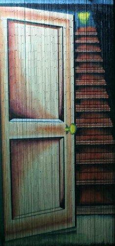 ABeadedCurtain 125 String Stairway Beaded Curtain 38% More Strands Handmade with 4000 Beads (+Hanging Hardware)