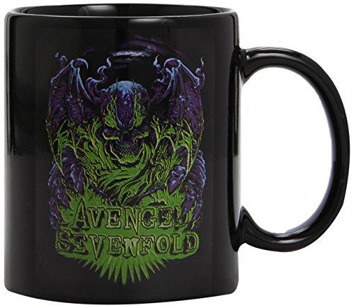 Avenged Sevenfold - Dare To Die Logo - Tasse schwarz im Geschenkkarton