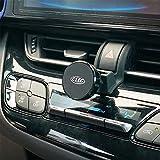 Beerte Soporte para teléfono de coche compatible con Toyota CHR 2018, soporte de soporte de ventilación de coche, apto para teléfono móvil con cubierta de clip de ventilación (aleación magnética)