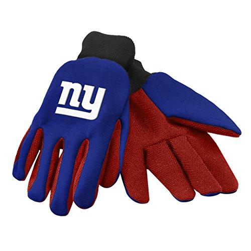 FOCO NFL Arbeitshandschuh, farbige Handfläche, Unisex, Team Color, Einheitsgröße