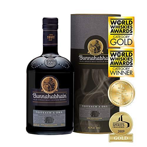 Bunnahabhain Toiteach A DHÀ Single Malt Scotch Whisky en caja de regalo,
