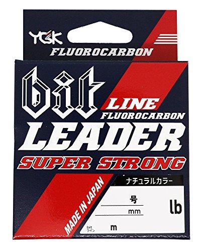 よつあみ(YGK) ショックリーダー bit リーダー スーパーストロング フロロカーボン 20m 2.5号 10lb ナチュラル