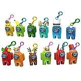 Llavero DealMux con personajes de mini juegos, plástico, amuletos de muñecas, portátiles, llaveros de juegos de anime