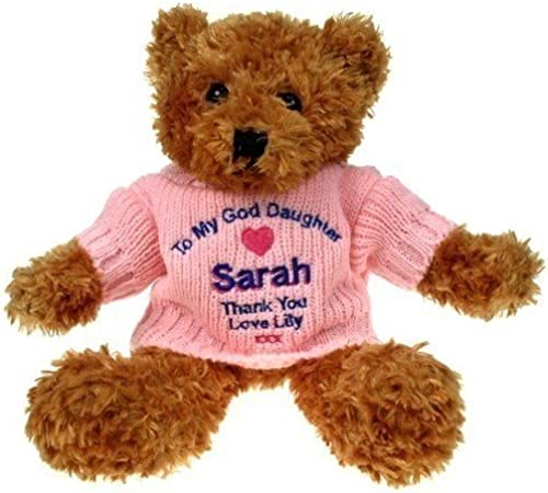 braun Teddy Bear  God Daughter