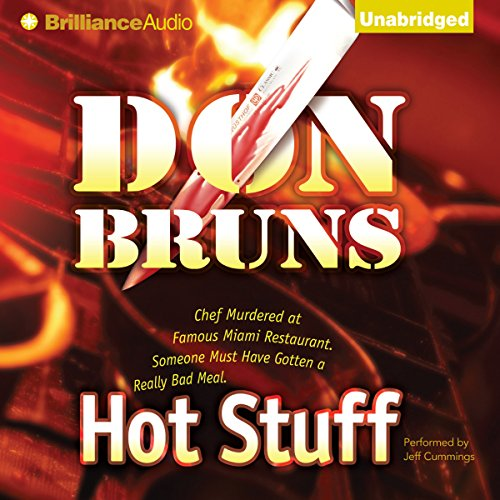 Hot Stuff audiobook cover art
