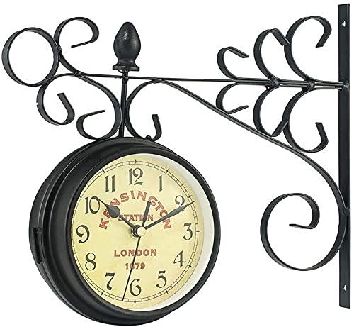 relojes de pared estacion de tren de la marca HGDH