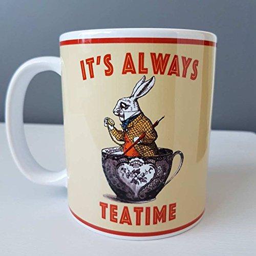 Alicia en el País de las Maravillas - Taza It's Always Tea Time