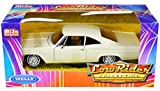 Welly Diecast 1965 Chevy Impala SS 396 Beige Low Rider Collection 1/24 Diecast Model Car by Welly 22417
