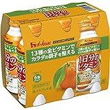 ハウスウェルネスフーズPERFECT VITAMIN 1日分のビタミン オレンジ味 120ml ×6本
