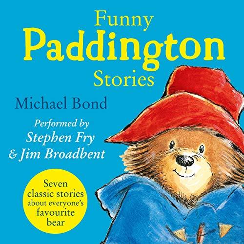 Funny Paddington Stories (Paddington) audiobook cover art