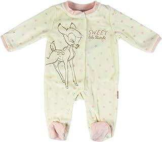 Artesania Unisex Kinder Pelele Velour Disney Bambi Strampler