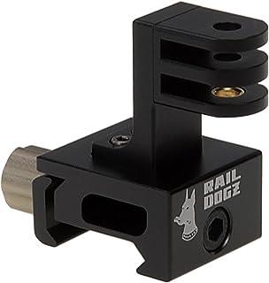 RAIL DOGZ Side Gun Rail Mount for GoPro - All Metal Camera Mount for Picatinny Gun Rails