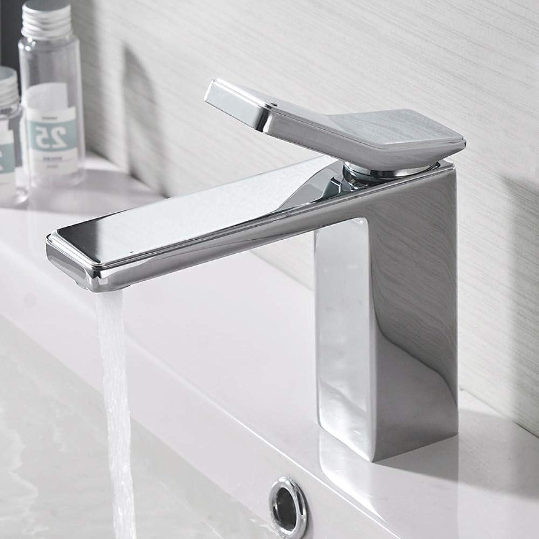 Waschtischarmatur Becken Waschbecken Mischbatterie Einhebel Hohe Qualitt Messing Chrom Einlochmontage Bad Waschbecken Wasserhahn