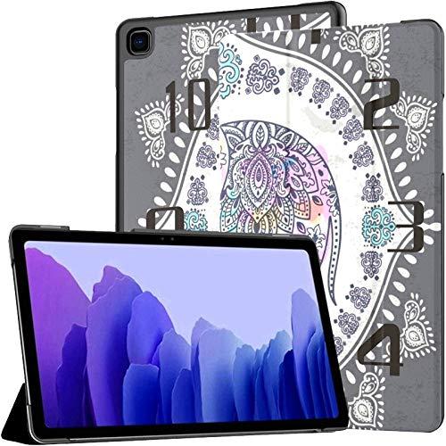 Ornamento gráfico Elefante Galaxy Tab A7 10.4 2020 Funda Galaxy Tab A7 10,4 Pulgadas Fundas para tabletas Funda para Tableta Samsung con activación automática/Reposo Galaxy Tab A Funda para Galaxy