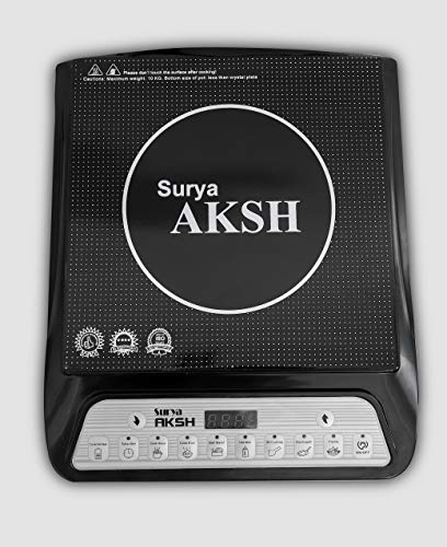 SURYA AKSH A-8 2000 Watts Induction Cooktop