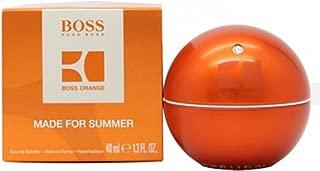 boss in motion orange summer