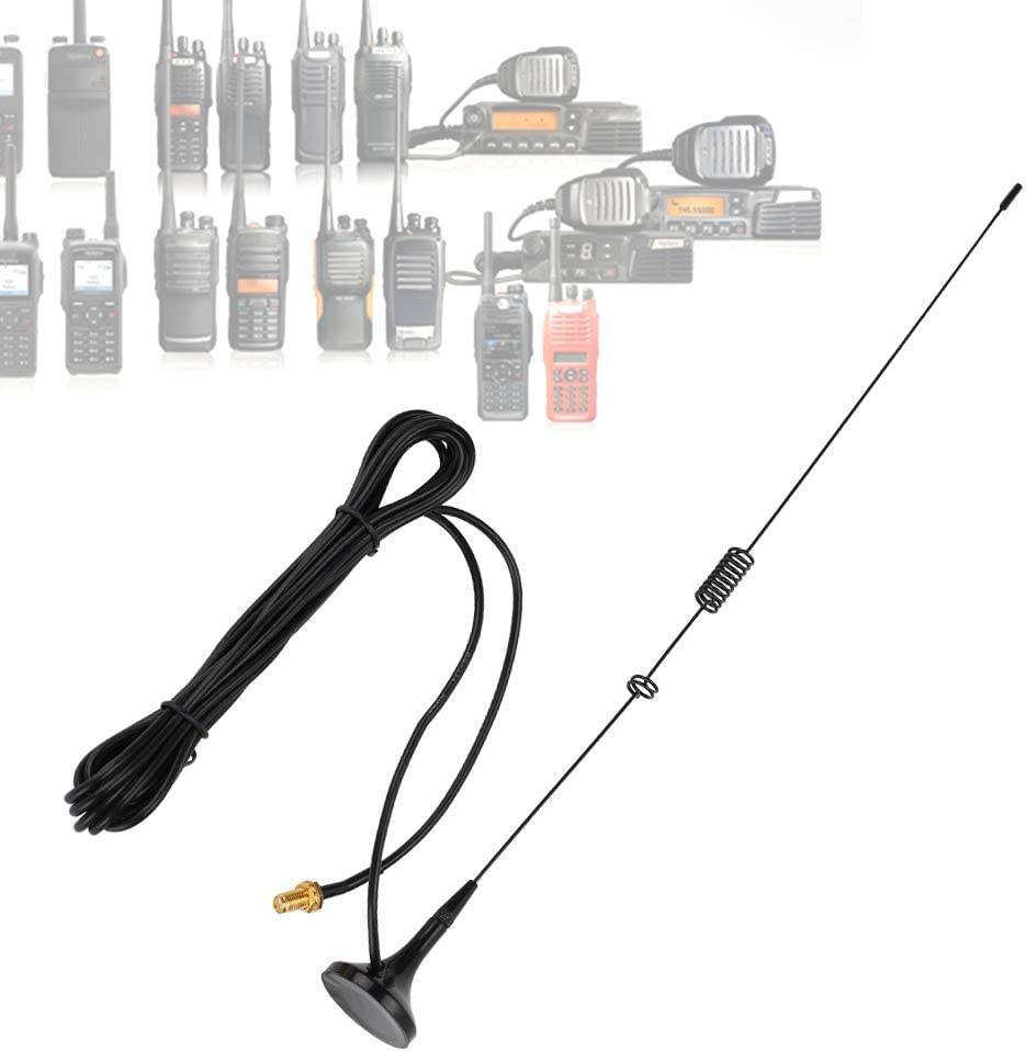 Socobeta Replacement VHF UHF Gorgeous Dual U Antenna with Band Fashion Compatible