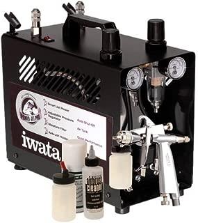 Iwata Professional G6 Kit de pistola de bronceado con compresor Power Jet Pro