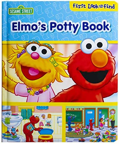 Sesame Street Elmo s Potty Book First Look and Find PI Kids product image