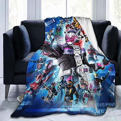 Kamen Rider coperta ultra morbida in micropile coperta leggera e accogliente flanella coperta per bambini adulti decorazione regalo