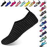 Funnie Hommes Femmes Enfants Barefoot Chaussures d'eau Séchage Rapide Slip-on Sports Aqua Chaussures de Yoga Poids Léger à Séchage pour Mer Plage Piscine Natation Surf Snorkeling Unisexe