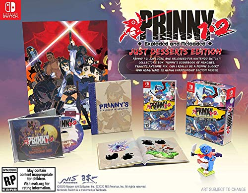 [Amazon/US] Prinny 1•2: Exploded and Reloaded Just Desserts Edition - $39.99 (~33% Off)