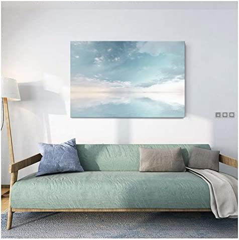 wall26 Canvas Wall Art Peaceful Seascape with Skyline Above The Calm Ocean Giclee Print Gallery product image