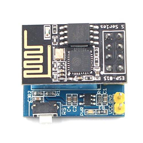 SODIAL ESP8266 ESP-01S serie Transceptor inalambrico + Monitor de humedad de temperatura...