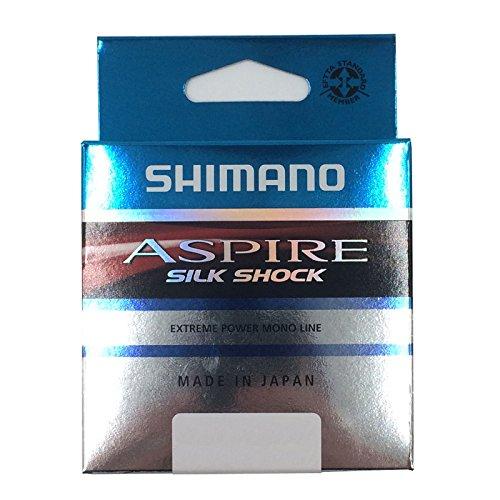 Shimano Aspire Choque De Seda Sedal Aparejo 50m Todas Las Tallas - 0.145mm
