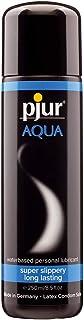 pjur AQUA - Vattenbaserad premium-glidgel - utmärkta glidegenskaper, ger fukt, ej klibbig - även för sexleksaker (250ml)