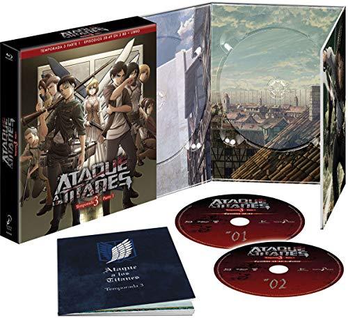 Ataque A Los Titanes Temporada 3 Episodios 38 A 49 Blu-Ray Edición Coleccionista [Blu-ray]