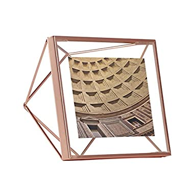 Umbra Prisma Picture Frame, 4 by 4-Inch, Copper