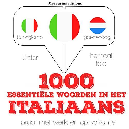 1000 essentiële woorden in het Italiaans  By  cover art