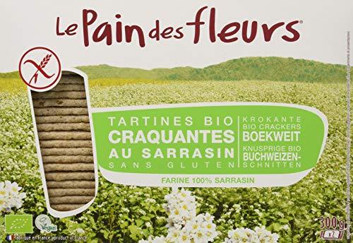 Pain de Fleurs Tartine Tostate Biologiche al Grano Saraceno 2x300 G, Senza glutine