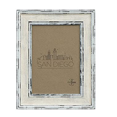 4x6 Picture Frame Distressed Cream - Mount Desktop Display, Frames by EcoHome