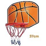 CLL Canasta de Baloncesto Infantil Juvenil Colgante de Interior Tablero de Madera Canasta de Hierro Que dispara Juguetes interactivos