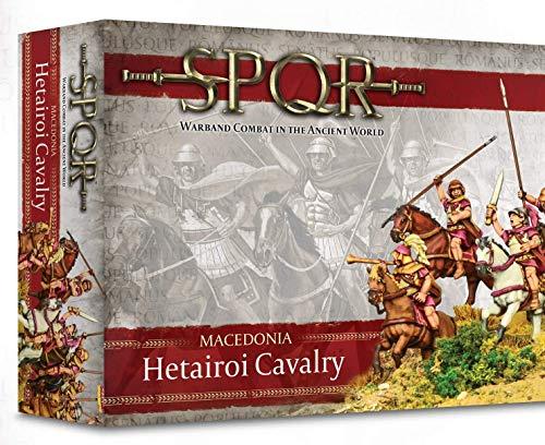WAR-152212002A - Juegos De Warlord - SPQR - Macedonia Macedonio Hetairoi Caballería - 6 Caballería