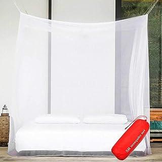 Mosquiteiro de luxo Fdrirect para dossel de cama, barraca para solteiro a gêmeo XL, tela de acampamento, os melhores burac...