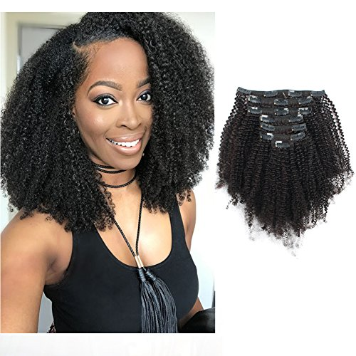Curly Clip ins for African Americans Black Women