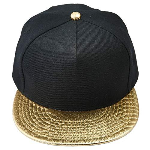 KYEYGWO Unisex Hip Hop Kappe, Snapback Caps Mütze für Herren und Damen Verstellbar Flat Brim...
