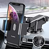 Cell Phone Holder for Car - FLOVEME 360 Rotate Long Arm One Touch Auto Grip Dashboard/Windshield/Air Vent Car Phone Mount for iPhone 11 Pro Xs Max XR X 8 7 Samsung Galaxy Note 10 9 8 S10 S9 Pixel 3 4