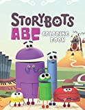 StoryBots ABC Coloring Book: A Coloring Book For Kids, High-Quality Illustrations, Exclusive Coloring Pages, Perfect for Preschool Activity at home