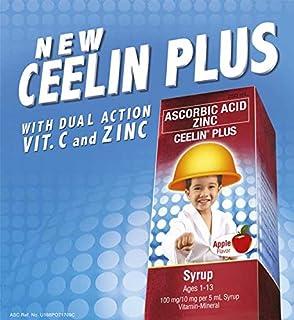 2 Ceelin Plus (Ascorbic Acid and Zinc) 2x120ml